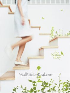 The Nature Story With Butterfly Wall Sticker