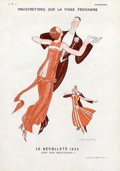 Leon Bonnotte for Fantasio, 1922