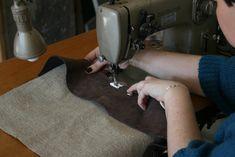 comment coudre du cuir a la machine