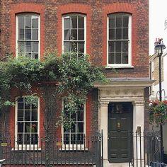 "805 Likes, 8 Comments - Disraeli81 (@disraeli81) on Instagram: ""Sohohoho. #Brick #Windows #Door #Georgian #Architecture #Soho #London #England"""