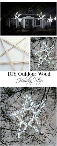 I have a gallery of 21 cheap and easy to create DIY outdoor Christmas decorations for your inspiration.