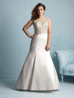 Allure Bridal Women Spring 2015- Style W355