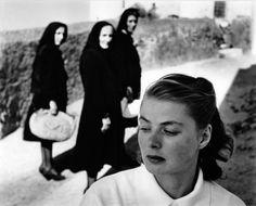 Gordon Parks photo of Ingrid Bergman