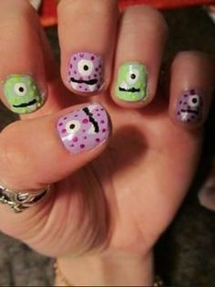 Think I will be trying Monster nails tutorial next