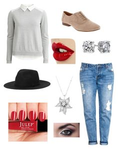 Suede by brady-mcdevitt on Polyvore featuring polyvore, fashion, style, VILA, Old Navy, Blue Nile, La Preciosa and Monki
