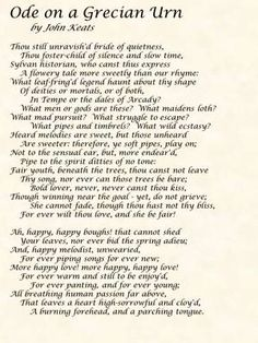 Ode on a Grecian Urn Critical Essays