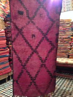 Vintage Purple Moroccan rug from 1940s – Reloved