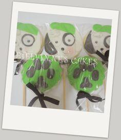 DOKI - Bolachas de baunilha decoradas com pasta de açúcar no palito.es: BOLACHAS DOKI