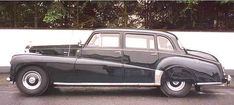 1953 Saloon with division by Nordberg (chassis LALW14)