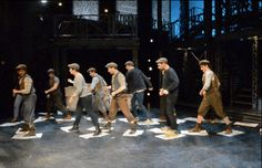 "Here's What Happens When You Try To Dance With ""Newsies"" On Broadway"