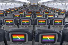 The Gay-Friendliest Airlines in the Skies