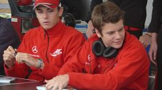 With Jules Bianchi