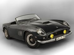The Baillon collection, including a 1961 Ferrari 250 GT SWB California Spider, is the highlight of the Artcurial collector cars auction during the 2015 Paris Rétromobile Salon. Dyna Low Rider, Most Expensive Car Ever, Expensive Cars, Harley Davidson Dyna, Bugatti Veyron, Gq, Automobile, Hispano Suiza, Car Head
