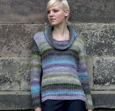 Sweater in Noro Silk Garden. Discover more Patterns by Noro at LoveKnitting. The world's largest range of knitting supplies - we stock patterns, yarn, needles and books from all of your favorite brands.