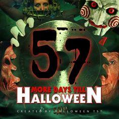 Halloween Countdown, Deadpool Videos, Wonderful Time, Video Game, Horror, Artwork, Movie Posters, Movies, Work Of Art