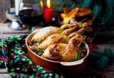 Křepelky jsou náchylné na vysušení, stačí jim 20 minut. Foie Gras, Peru, Chicken Wings, Poultry, Bacon, Turkey, Food, French Toast, Christmas Eve Dinner
