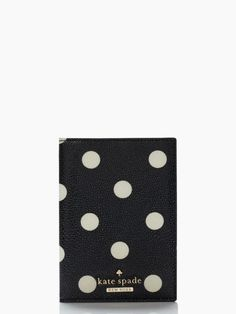 An adorable dot passport holder for the international travel bug in your life.
