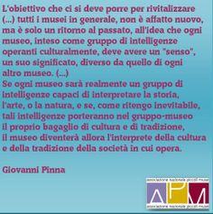 """Il museo inteso come """"gruppo di intelligenze"""". Un pensiero di Giovanni Pinna."""