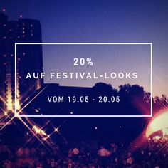 20% auf Festival-Looks bei MUSTANG