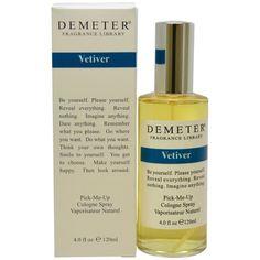 Demeter Vetiver Women's 4-ounce Cologne Spray