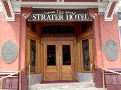 The Historic Strater Hotel in Durango, Colorado. Enjoyed a yummy Thanksgiving dinner here!