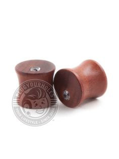 """Description What is it? Great for your ears and easy on the nose, wood plugs are always a great idea. Try not to wear them in water, and make sure you keep them away from fire. Product Details What is it made of? Material: Mahogany Wood Plug Size: 2g-5/8"""" Wearable Area: 8.8mm *Please note that these measurements are based on averages* Class: Wood Color: Brown Wood Plugs, Plugs Earrings, Tunnels And Plugs, Wood Colors, Body Jewelry, Bling, Accessories, Ears, Note"""