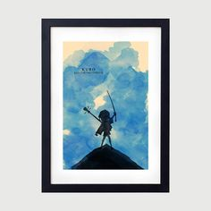 Kubo and the Two Strings Minimalist Poster, Kubo Minimalist Poster, Kubo Poster…