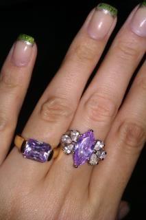 Diamond Candle Ring - Beth Johnson