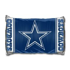 """Dallas Cowboys NFL Pillow Case 20"""" X 30"""" by Northwest. $10.45. Brand New. Pillow Case 20in x 30in. Save 67%!"""