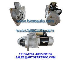 NEW HINO EP100 STARTER MOTOR 24V 28100-1780 28100-1770 0350-602-003 28100-1520 03122-8030 Starter Motor, Transfer Case, Drive Shaft, Guangzhou, Rear View Mirror, Hinata, Car Accessories, Nissan, Auto Accessories