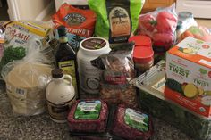 Gluten Free, Clean Eating Costco Shopping List   Food L'amor   Gluten Free and Paleo Recipes by Melissa. Close to 100 organic, healthy products that are a good deal! #glutenfree #paleo #cleaneating