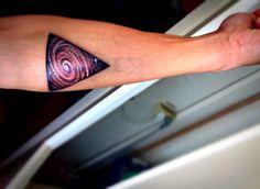 Tattoo Galaxy Triangle