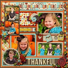 Đã đăng ký CT1 - Có temp: Double it up 9 - page9 - Cindy.  Life 101-November: Count Your Blessings by Jady Day Studio & Meghan Mullens