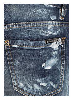 Carlos *Smee* Schimidt Blog sobre laser para jeans (About laser for jeans): Dsquared2 - Inspirações para jeans #laser#laserinspirations#lasermachine#inpirationstojeans