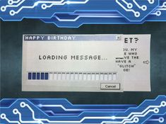 Picture of Loading Message Card