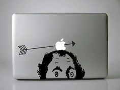 Or William Tell it. | 31 Cool Things To Do With The Apple Logo On Your Mac
