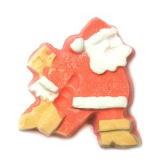 Dashing Santa Bath Bomb: Just as jolly Old St. Nick races around delivering presents to good girls and boys on Christmas Eve, this Dashing Santa Bath Bomb will fly around the tub, dashing to and fro.