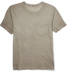 Massimo Alba - Garment-Dyed Cotton T-Shirt |MR PORTER