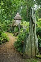 Stumpery at Highgrove