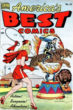 Comic Book Cover For America's Best Comics #31