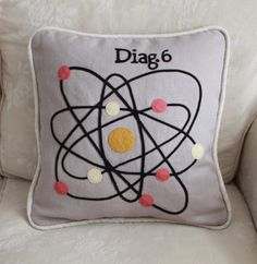 Diagram Pillow -Atom