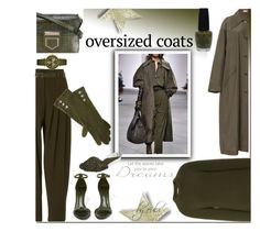 """""""Chic Oversized Coats"""" by eula-eldridge-tolliver ❤ liked on Polyvore featuring Michael Kors, Givenchy, OPI, Schutz, Michele, Ralph Lauren, Harrods and HTC"""