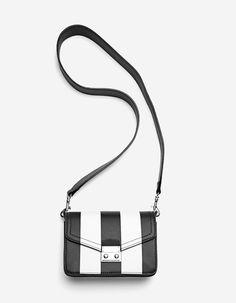 Μίνι τσάντα χιαστί ριγέ - Τσαντες | Stradivarius Greek