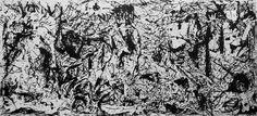 Picasso's Guernica [Jackson Pollock]