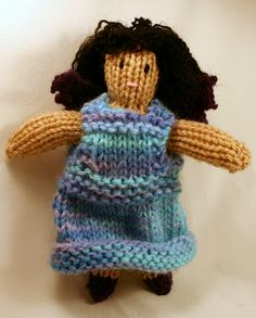 The Fuzzy Square: Knit Fairy