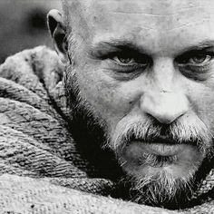 That stare.. | Travis Fimmel | a.k.a. Ragnar Lothbrok