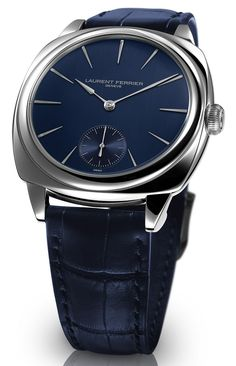 Laurent Ferrier Galet Square Polishes The Cushion-Shaped Watch Case