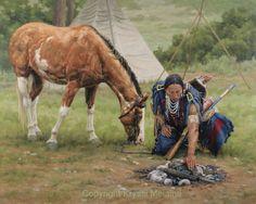 Kristii Melaine Artist paintings