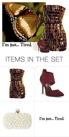 """Golden Night Out"" by beet-1 ❤ liked on Polyvore featuring art"