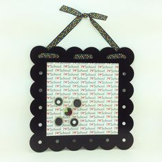 AG Designs Decor - Metal Magnectic Memo Board Teacher Gift Black #04-28/04 by AgapeGiftsOnline on Etsy